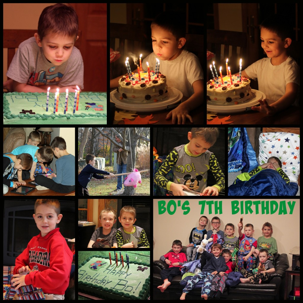 Bo's 7th Birthday
