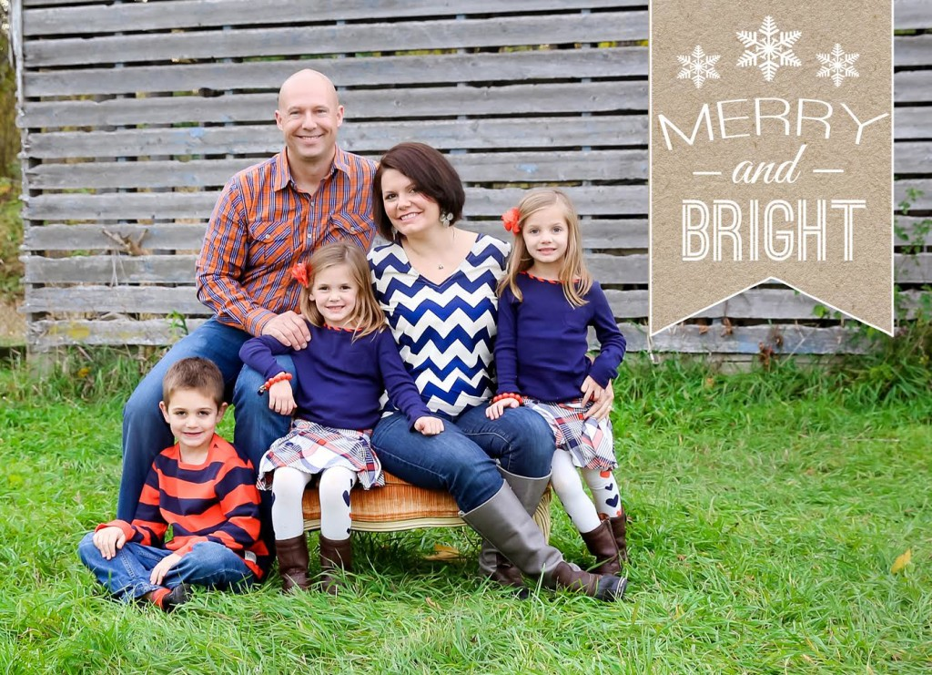Christmas Card 2014 Front